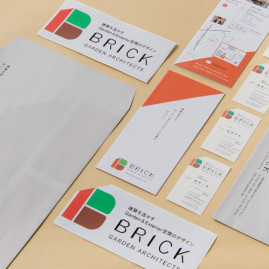 BRICK garden architects / branding