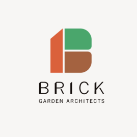 BRICK garden architects / logomark