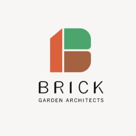 BRICK garden architects / logomark