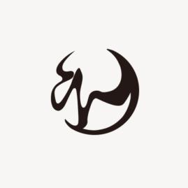 長岡京 圓仁 / logomark / 2019