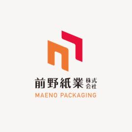 前野紙業株式会社 / logomark / 2019