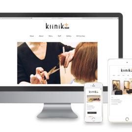 klinik+RGB(クリニー) / webdesign / 2016