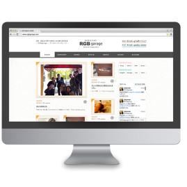 RGBgarage / webdesign